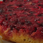 cranberry apple upside down cake recipe